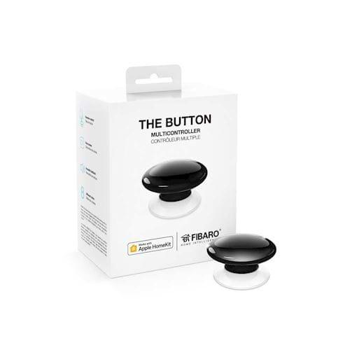 FIBARO The Button voor Apple HomeKit (Zwart)