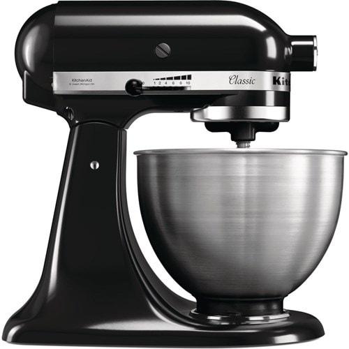 KitchenAid keukenmachine 5K45SSEOB (Zwart)