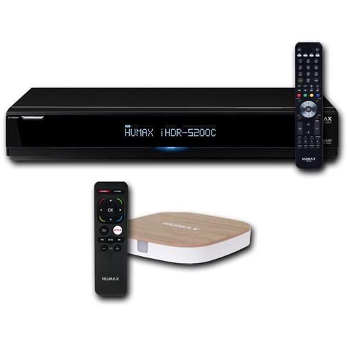 Humax kabel-TV recorder IHDR-5200C Bundel H3