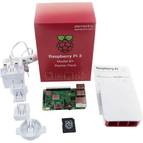 Raspberry mediaplayer PI 3 MODEL B+ STARTERS KIT