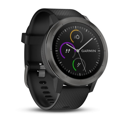 Garmin smartwatch VIVOACTIVE 3, ZWART ZWART