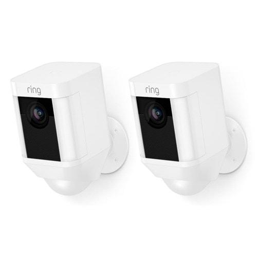 Ring IP camera Spotlight Cam Batterij Duopack (Wit)
