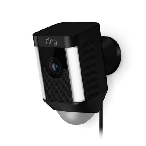 Ring IP camera Spotlight Cam Bedraad (Zwart)