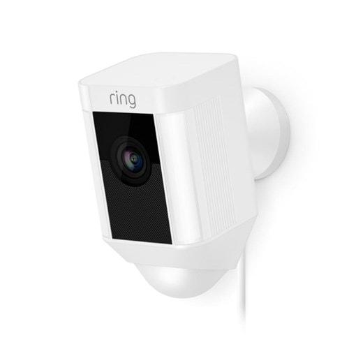 Ring IP camera Spotlight Cam Bedraad (Wit)