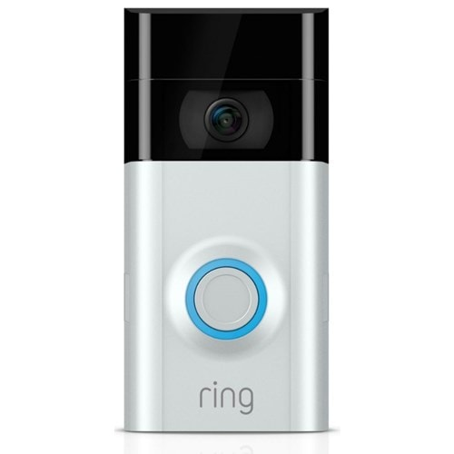 Ring IP camera Video Deurbel 2 (Zilver)