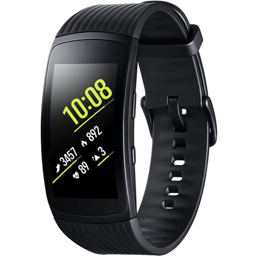 Samsung smartwatch Gear Fit 2 Pro Large Zwart