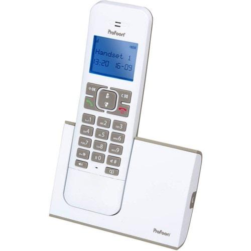Profoon DECT telefoon PDX-8400 WT/TE