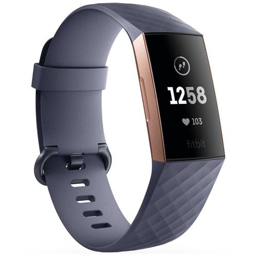 Fitbit Charge 3 activiteitstracker Goud Grijs