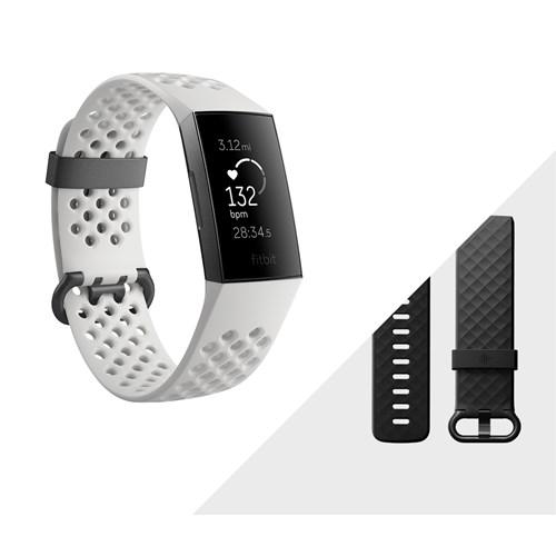Fitbit Charge 3 activiteitstracker met NFC Grijs Wit