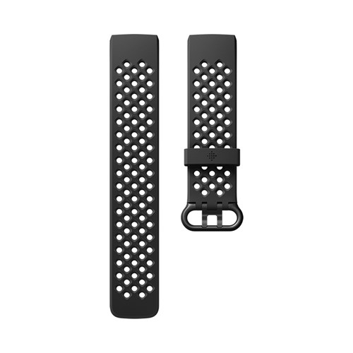 Fitbit Charge 3 sport polsband maat Small (zwart)