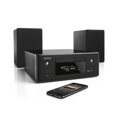 Denon microset CEOL N10 Zwart Incl. Stereo Speakers