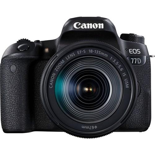 Canon spiegelreflexcamera EOS 77D 18-135MM IS USM