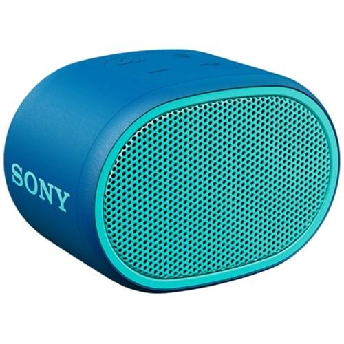 Sony portable speaker SRSXB01L (Blauw)