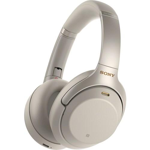 Sony draadloze hoofdtelefoon WH1000XM3S Zilver