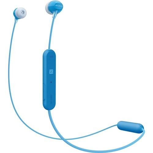 Sony in ear draadloze hoofdtelefoon WI C300 Blauw