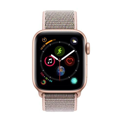 Apple smartwatch Serie 4 GPS 40 mm Goud Geweven Sportband