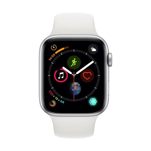 Apple smartwatch Serie 4 GPS 44 mm (Zilver) Sportband