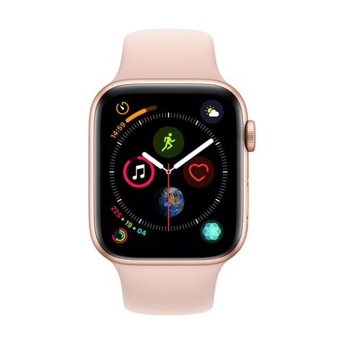 Apple smartwatch Serie 4 GPS 44 mm (Goud) Sportband