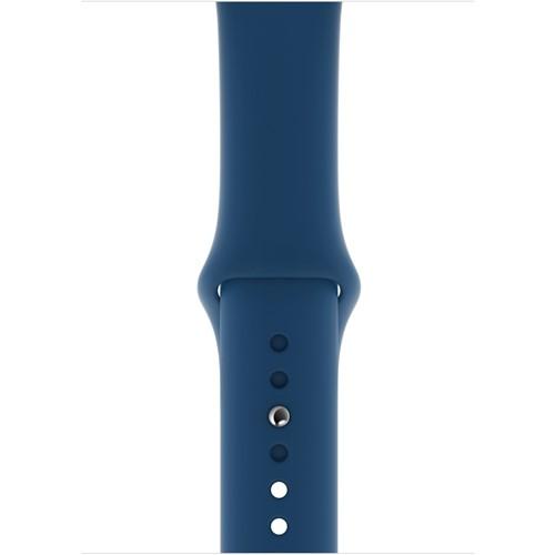 Apple Watch sportbandje 44mm M L XL Blauw