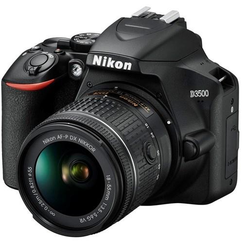 Nikon spiegelreflexcamera D3500 (zwart) + 18-55 VR