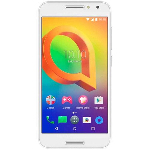 Alcatel smartphone A3 (Wit) inclusief Lebara Simkaart