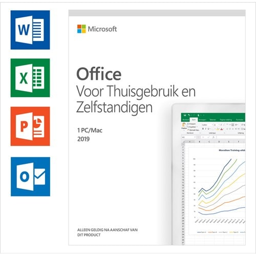Microsoft Office 2019 Home & Business Volledig 1 licentie