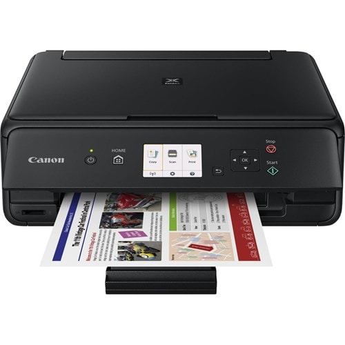 Canon all-in-one printer PIXMA TS5055 (Zwart)
