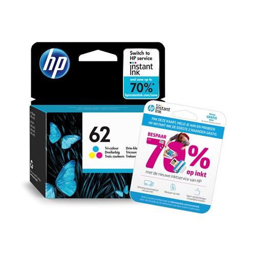 HP cartridge 62 kleur