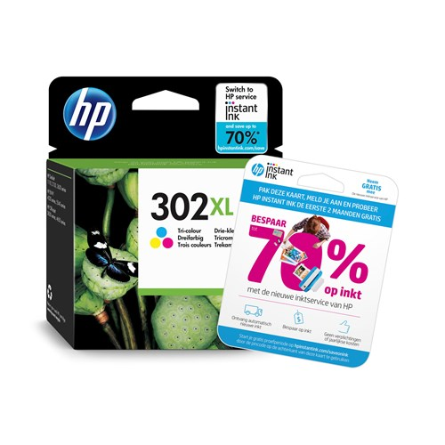 HP cartridge 302 XL kleur