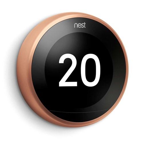 Nest Thermostat 3rd Gen Koper