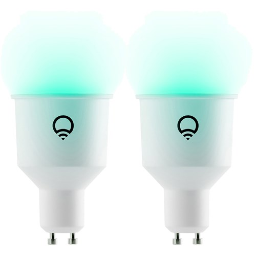LIFX Colour White GU10 2 pack