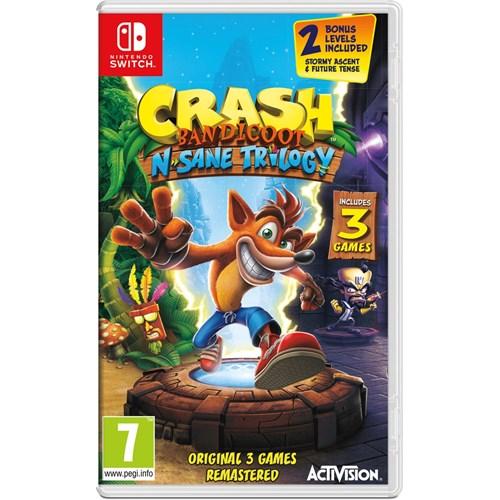 Switch Crash Bandicoot N.sane