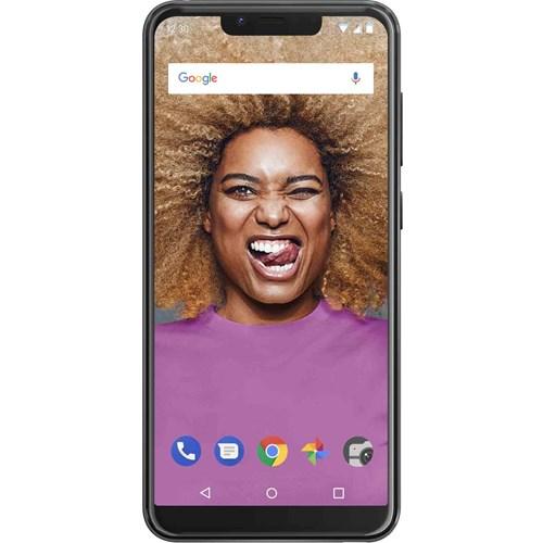 Wiko smartphone VIEW 2 GO Antraciet