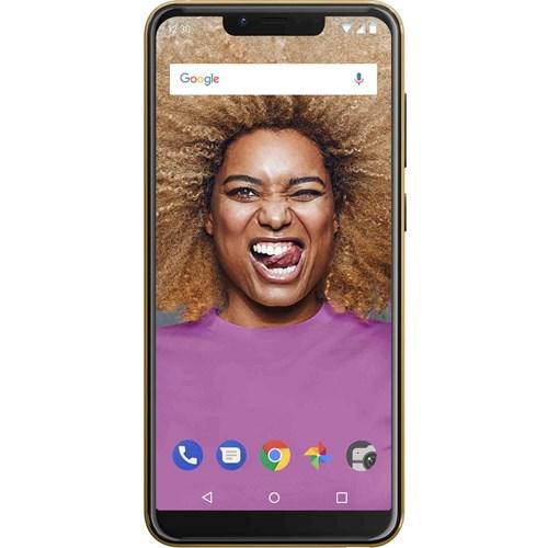 Wiko smartphone VIEW 2 GO Goud