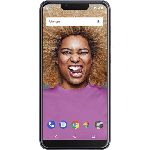 Wiko smartphone VIEW 2 GO Paars