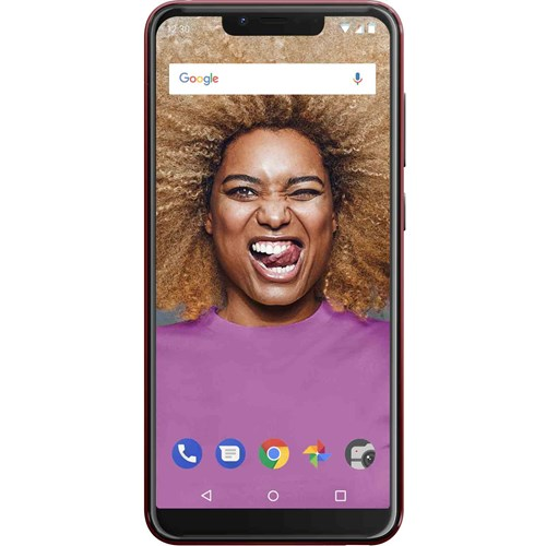 Wiko smartphone VIEW 2 GO (Rood)