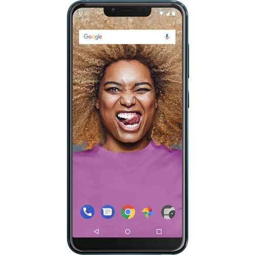 Wiko smartphone VIEW 2 GO Groen