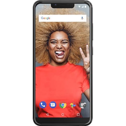 Wiko smartphone VIEW2 PLUS Antraciet