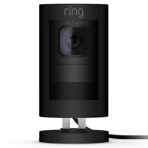Ring IP camera Stick Up Cam Wired (Zwart)