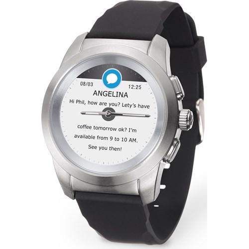 MyKronoz smartwatch ZeTime Original (Zwart)