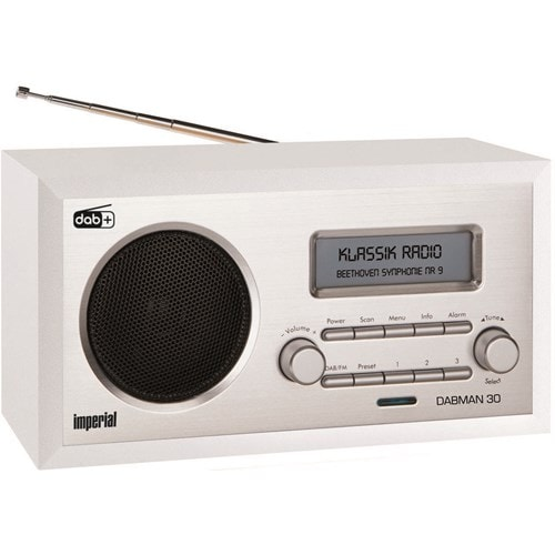 Imperial DAB radio DABMAN 30 (Wit)