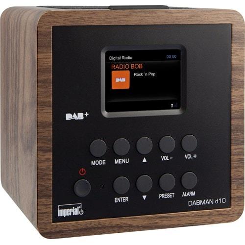 Imperial wekkerradio DABMAN D10 (Hout)