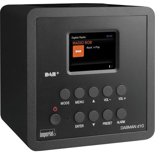 Imperial wekkerradio DABMAN D10 (Zwart)