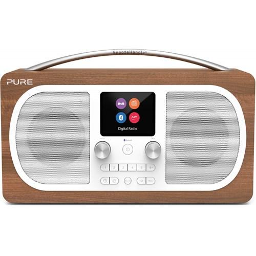 Pure DAB radio EVOKE H6 (Bruin)