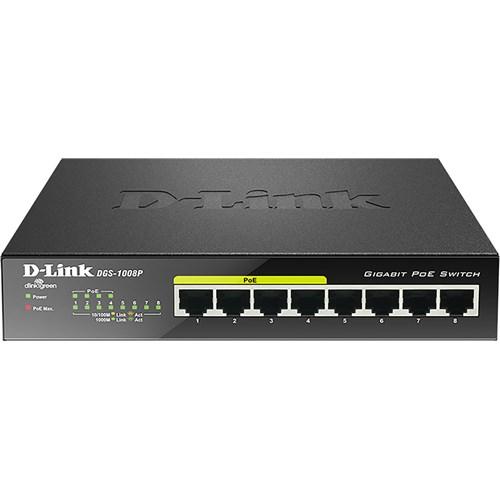 D Link netwerk switch DGS 1008P