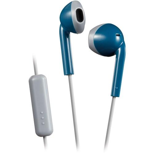JVC in ear hoofdtelefoon HA F19M AH E Blauw Grijs