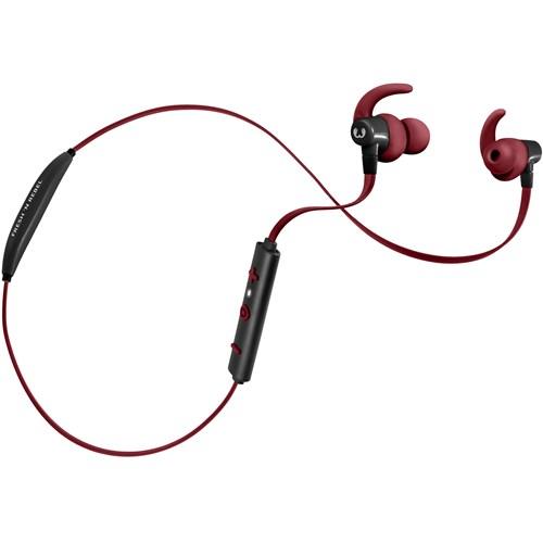 Fresh 'n Rebel in-ear hoofdtelefoon LACE SPORTS (Rood)