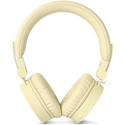 Fresh 'n Rebel draadloze hoofdtelefoon CAPS (Geel)