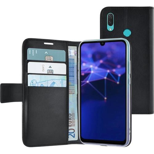 Azuri walletcase Huawei P Smart 2019 Zwart