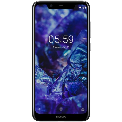 Nokia smartphone 5.1 Plus (Zwart)